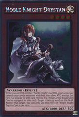 Noble Knight Drystan - NKRT-EN008 - Platinum Rare - Limited Edition