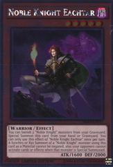 Noble Knight Eachtar - NKRT-EN011 - Platinum Rare - Limited Edition on Channel Fireball