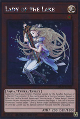 Lady of the Lake - NKRT-EN013 - Platinum Rare - Limited Edition on Channel Fireball