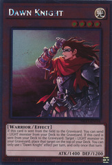 Dawn Knight - NKRT-EN016 - Platinum Rare - Limited Edition