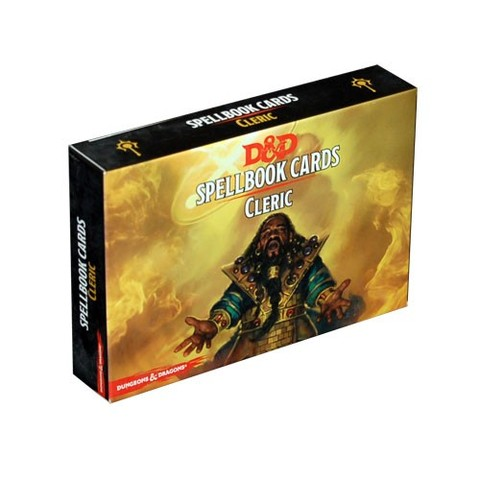 Dungeons and Dragons 5th Edition RPG: Spellbook Cards - Cleric