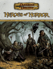 D&D Heroes of Horror 3.5 HC