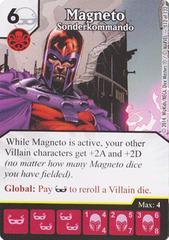 Magneto - Sonderkommando (Die & Card Combo)