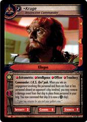 Kruge, Instinctive Commander