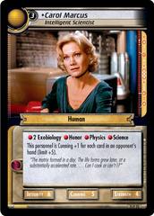 Carol Marcus, Intelligent Scientist