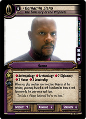 Benjamin Sisko, The Emissary of the Prophets
