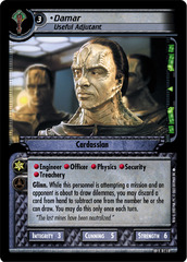 Damar, Useful Adjutant