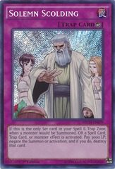 Solemn Scolding - NECH-EN079 - Secret Rare - Unlimited Edition