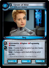 Seven Of Nine, Efficient Analyst