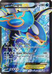 Kyogre-EX - 148/160 - Full Art