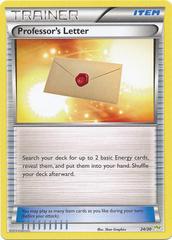 Professor's Letter - 24/30 - XY Trainer Kit (Noivern)