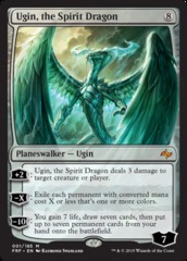 Ugin, the Spirit Dragon on Channel Fireball