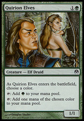 Quirion Elves on Channel Fireball
