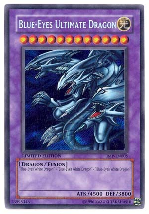 Blue-Eyes Ultimate Dragon - JMP-EN005 - Secret Rare - Promo Edition
