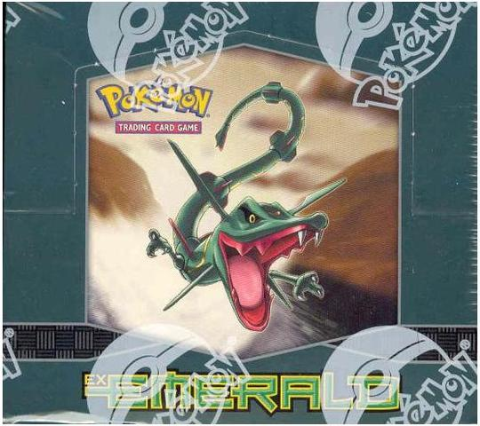 EX Emerald Booster Box