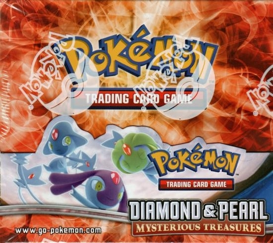 Diamond And Pearl: Mysterious Treasures Booster Box