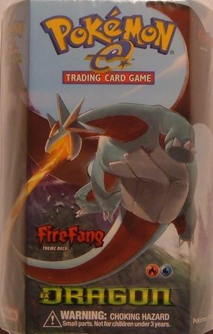 FireFang EX Dragon Theme Deck