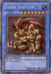 Super War-Lion - Secret Rare - PP02-EN001 - Secret Rare - Unlimited