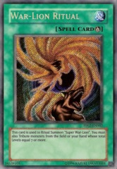 War-Lion Ritual - Secret Rare - PP02-EN002 - Secret Rare - Unlimited