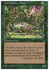 Carnivorous Plant on Channel Fireball
