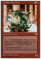 Goblin Tinkerer on Channel Fireball
