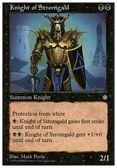 Knight of Stromgald on Channel Fireball