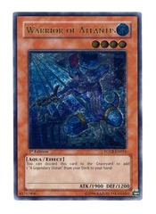 Warrior of Atlantis - FOTB-EN016 - Ultimate Rare - 1st Edition