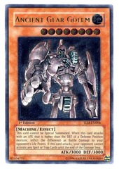 Ancient Gear Golem - Ultimate - TLM-EN006 - Ultimate Rare - 1st Edition