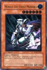 Mobius the Frost Monarch - SOD-EN022 - Ultimate Rare - 1st Edition