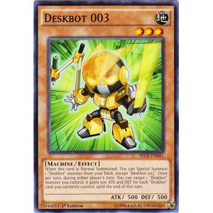 Deskbot 003 - SECE-EN041 - Common - 1st Edition