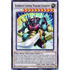 Superheavy Samurai Warlord Susanowo - SECE-EN048 - Super Rare - 1st Edition