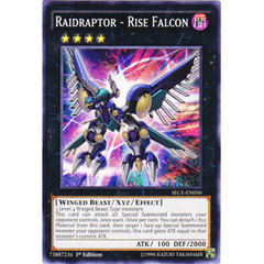 Raidraptor - Rise Falcon - SECE-EN050 - Common - 1st Edition