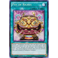Pot of Riches - SECE-EN063 - Secret Rare - 1st Edition