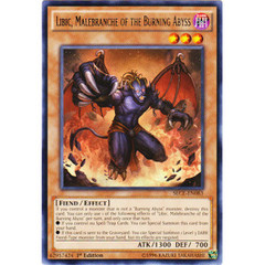 Libic, Malebranche of the Burning Abyss - SECE-EN083 - Rare - 1st Edition