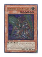 Gladiator Beast Alexander - GLAS-EN017 - Ultimate Rare - 1st Edition