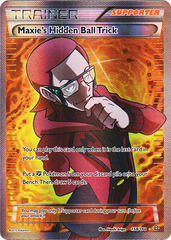 Maxie's Hidden Ball Trick - 158/160 - Full Art