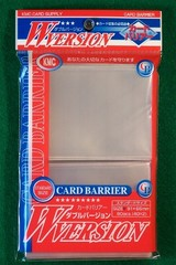 KMC W-version Clear Sleeves (80 ct)