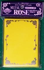 KMC Yellow Metal Rose 50 Sleeve Pack