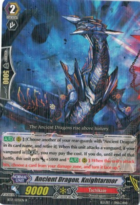 Ancient Dragon, Knightarmor - BT17/035EN - R
