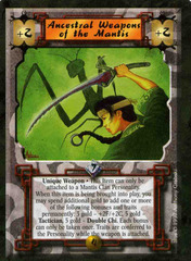 Ancestral Weapons of the Mantis