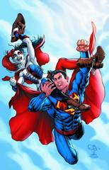 ACTION COMICS #39 HARLEY QUINN VAR ED