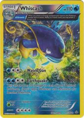 Whiscash - 41/160 - Rare - Reverse Holo