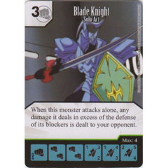 Blade Knight - Solo Act (Die & Card Combo)
