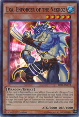 Exa, Enforcer of the Nekroz - THSF-EN012 - Super Rare - 1st Edition on Channel Fireball
