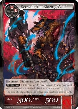 Beowulf, the Blazing Wolf - TAT-019 - C