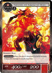 Bammoo, the Raging Fire Beast - 1-062 - U