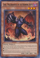 Libic, Malebranche of the Burning Abyss - SECE-EN083 - Rare - Unlimited Edition