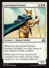 Gustcloak Sentinel on Channel Fireball