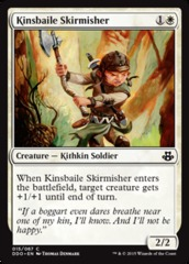 Kinsbaile Skirmisher on Channel Fireball
