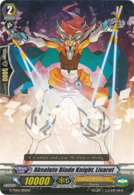 Absolute Blade Knight, Livarot - G-TD02/005EN